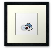 Super Smash Boos - Mega Man Framed Print