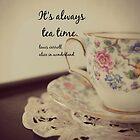 Tea Time Alice Wonderland by Kimberose