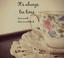 Tea Time Alice Wonderland by Kimberose