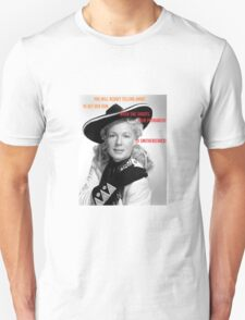 Annie Get Your Gun, and smash the patriarchy Unisex T-Shirt