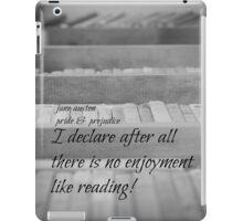 Jane Austen Reading iPad Case/Skin