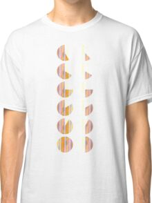 Watercolor handdrawn infographic circle and round Classic T-Shirt