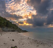 Totland Bay IOW by manateevoyager