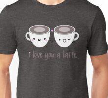 Lattes in Love Unisex T-Shirt
