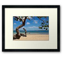 Main Beach Thursday Island  Framed Print