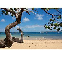 Main Beach Thursday Island  Photographic Print