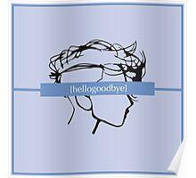 hellogoodbye lp cover - merch Poster