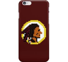 Throwback Redskins 8Bit - 3squire iPhone Case/Skin