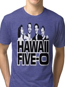 Hawaii Five-O: Time Out Tri-blend T-Shirt