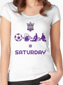 Saturday Women's Fitted Scoop T-Shirt