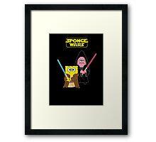 Sponge Wars Framed Print