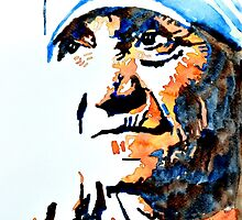 Mother Theresa  by Steven  Ponsford