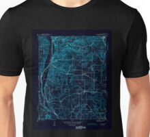 USGS TOPO Map Arkansas AR Bethesda 259938 1942 31680 Inverted Unisex T-Shirt