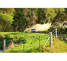 Hyindai i20 WRC Photographic Print