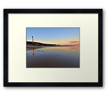 Covesea Skerries Lighthouse 2 Lossiemouth Scotland. Framed Print