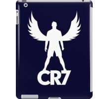 CR7 angel white iPad Case/Skin