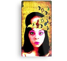 Musical Genius Metal Print