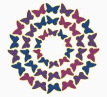 Circle of pbp butterflies One Piece - Short Sleeve