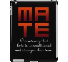 Mate (Soul & Mate Couples Design) iPad Case/Skin