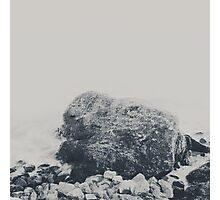 rocks and bricks Photographic Print