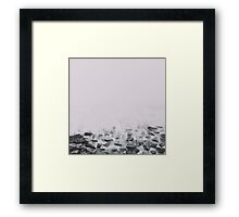 rocks and bricks Framed Print