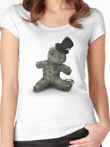 Mad Hatter Rag Doll Women's Fitted Scoop T-Shirt