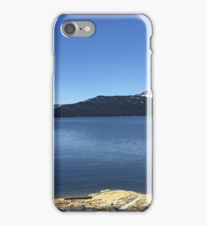 Jacksonmeadows Reservoir iPhone Case/Skin