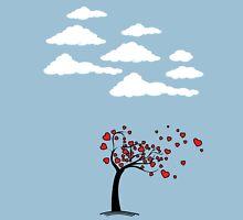 Heart Tree  (Heart Tree - Flying Hearts Couples Design) T-Shirt