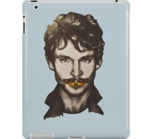 Don't touch Will Graham iPad Case/Skin