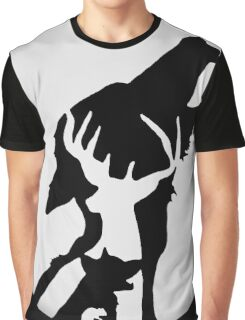Moony,Wormtail,padfoot,&prongs Graphic T-Shirt