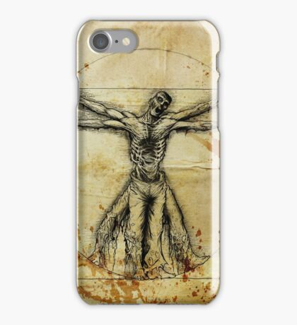 Vitruvian Zombie iPhone Case/Skin