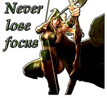 Ashe - Never lose focus by Bells94