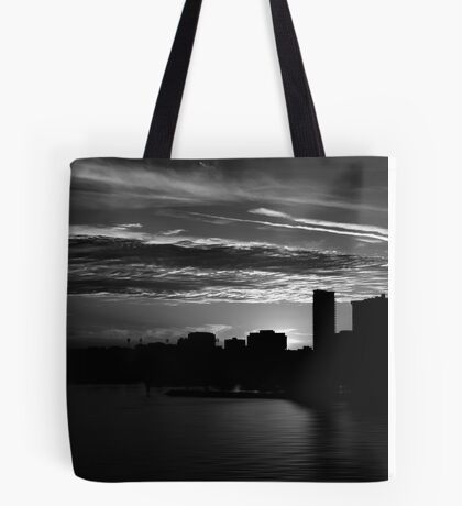 and yet another day closes Tote Bag