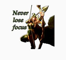 Ashe - Never lose focus Unisex T-Shirt