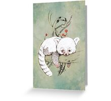 Red Panda! Greeting Card