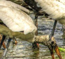 The Stork Gathering Sticker