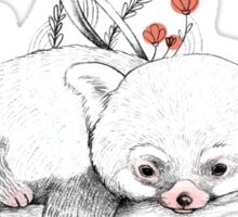 Red Panda! Sticker