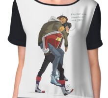 Klance at early stage! Chiffon Top