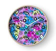 Tribal Pattern Hippy Shake Clock