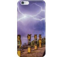 Geelong lightning iPhone Case/Skin