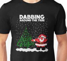 Cute Funny Dabbing Around the Tree Unisex T-Shirt