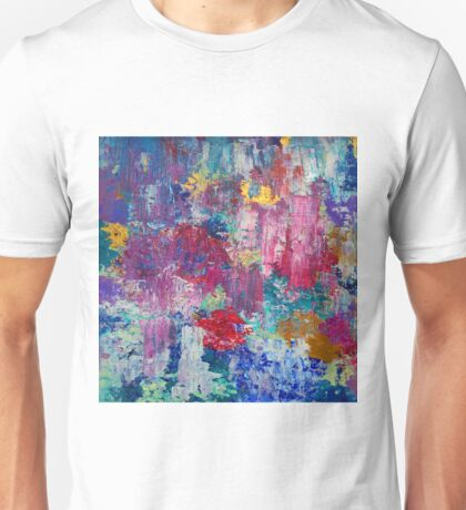 Absract colored painting 3 Unisex T-Shirt