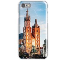 Cracow Main Square iPhone Case/Skin