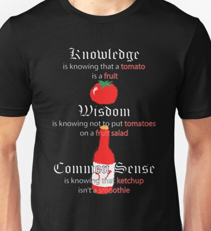 A tomato is a fruit Unisex T-Shirt