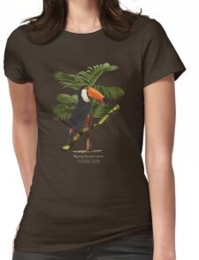 Toucan Tropics Womens Fitted T-Shirt