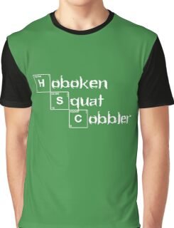 Hoboken Squat Cobbler 3 Graphic T-Shirt