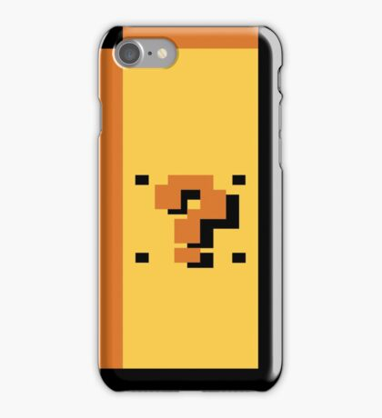 ? Block iPhone Case/Skin
