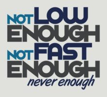 Not low enough, Not fast enough, Never enough (2) by PlanDesigner