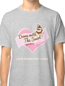 Down With The Swirl. Classic T-Shirt