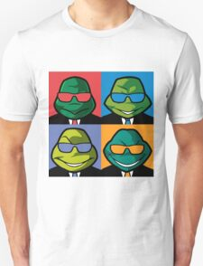 Turtles in Black - Coloured T-Shirt